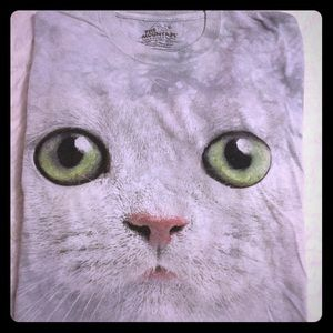 The Mountain Cat Face Tee